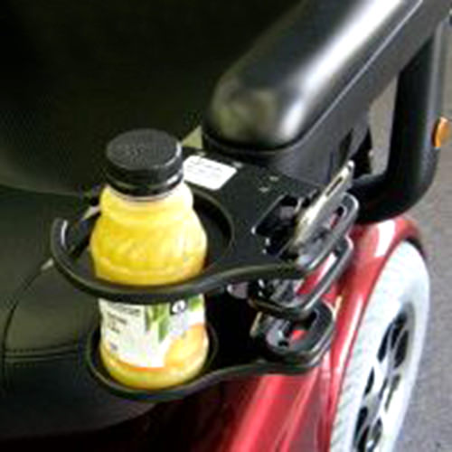 Adjustable Cell Phone/Drink Holder for Electric Powered Chairs