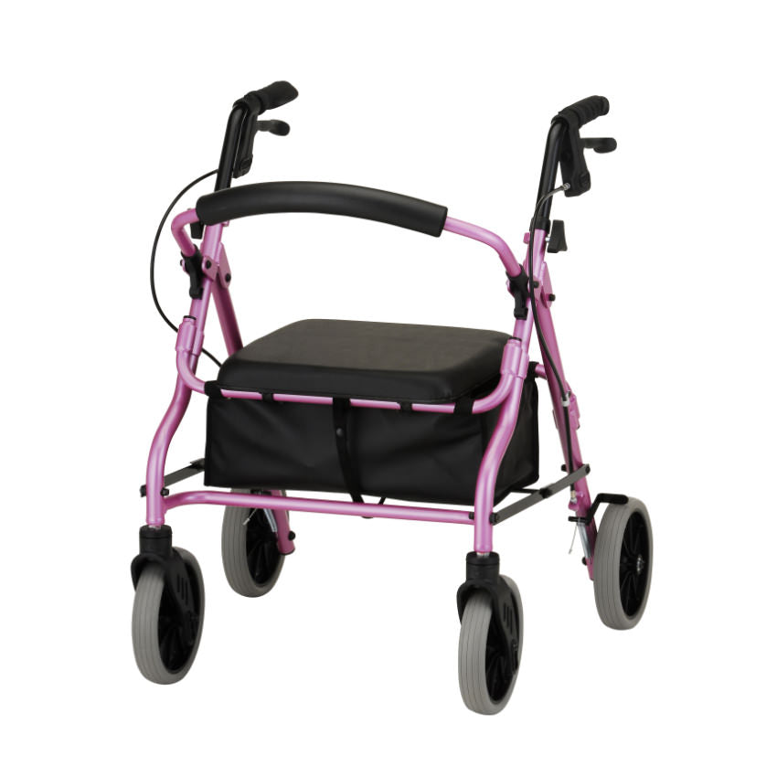 Fantastic Nova Ortho Med Zoom Rollator 18 Seat Height Alphanode Cool Chair Designs And Ideas Alphanodeonline