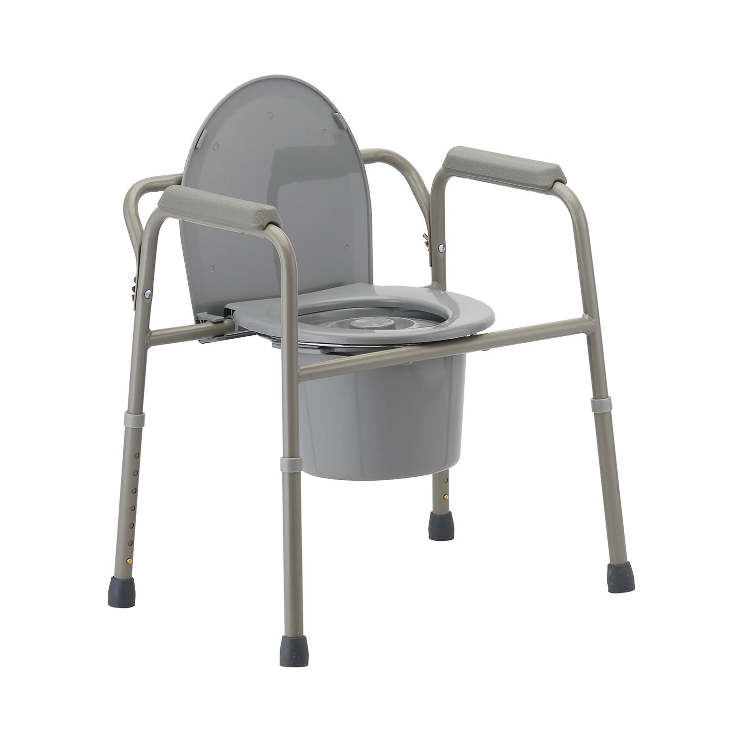 Nova 3-in-1 Commode with Back