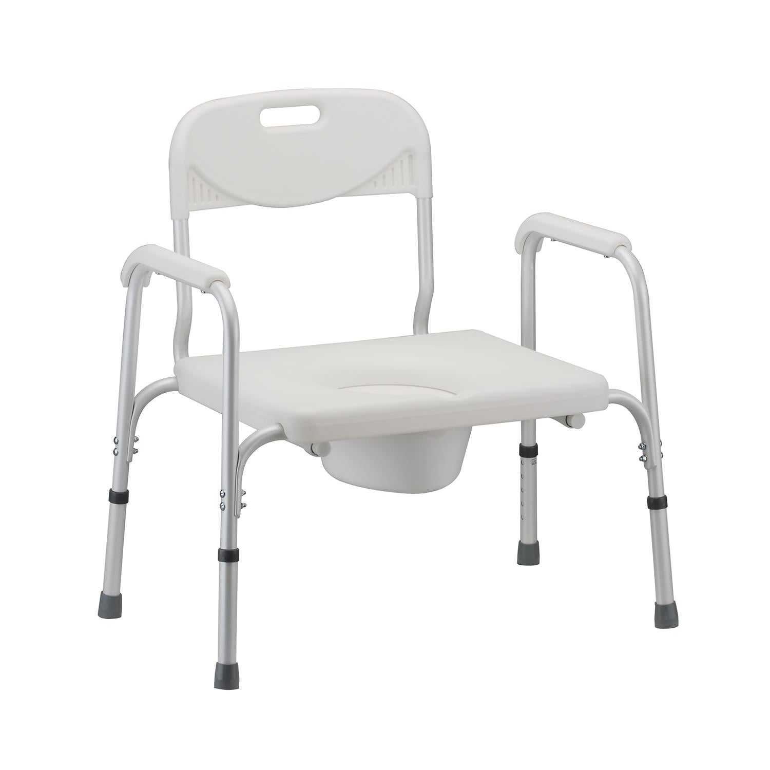 Nova Heavy Duty Bariatric Commode with Removable Backrest
