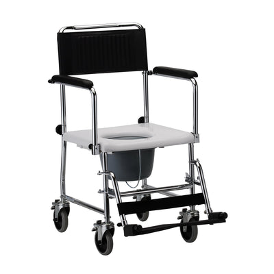 Nova Drop-Arm Commode Transport Chair