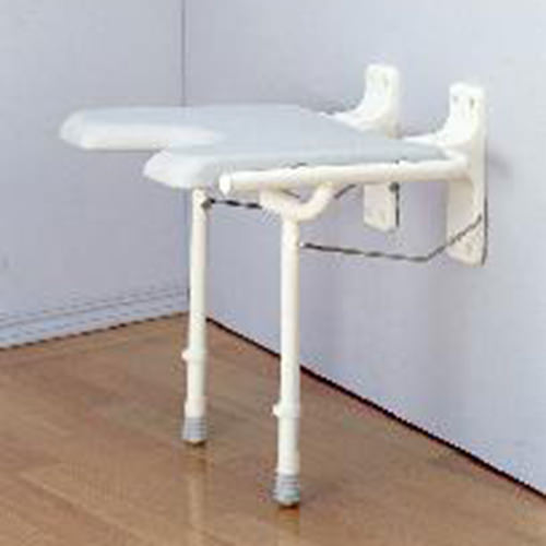 Wall Mounted, Foldable Shower Seat
