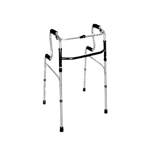 HealthSmart Sit-to-Stand Walker (Silver/Black) - New