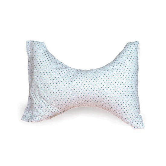 Briggs Cervical Rest Pillow (Blue Rosebud Print)