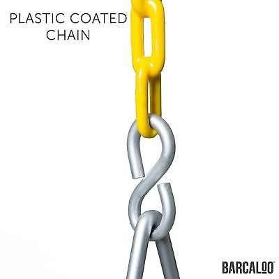 Barcaloo Playground Swing with Plastic Coated Chain 2 Pack - Set of Outdoor S...