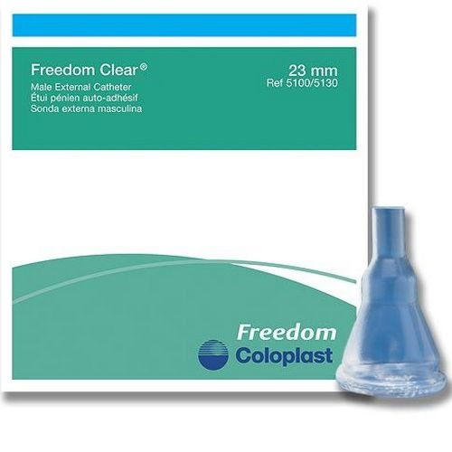 Coloplast Freedom Clear® Male External Catheter