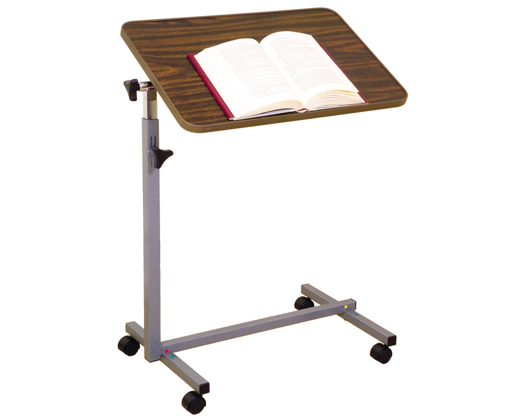 Essential Medical Tilt Top Overbed Table