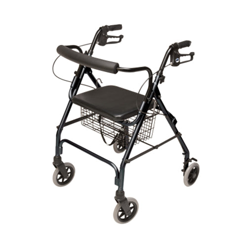 Walkabout Lite Rollator - Black