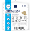 "Abena Foam Dressing with Film Backing, Sterile 6"" x 6"""