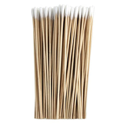 "Dynarex Cotton Tipped Applicator with Wood Stick, 6"", Non-Sterile"