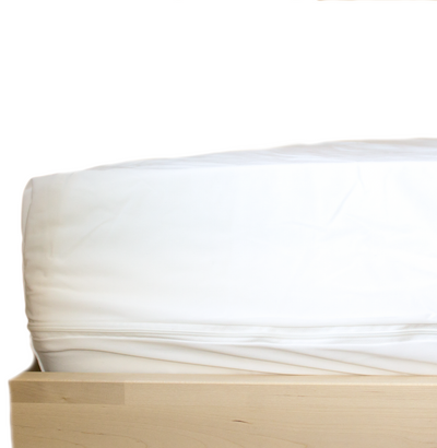 Premium Breathable Zippered Mattress Encasement - Waterproof