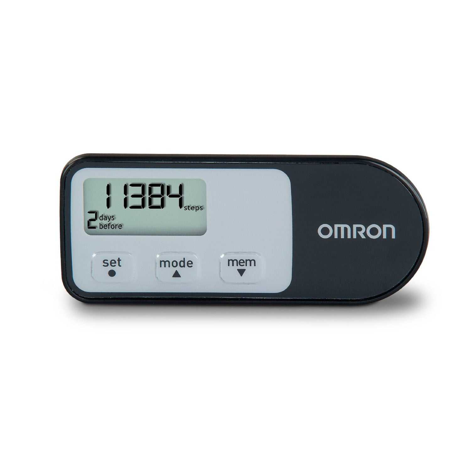Omron Tri-Axis Pedometer with Two Activity Modes
