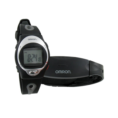 Omron Heart Rate Monitor HR-100C with 3 Functions - New, with Case