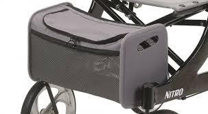 Drive Medical Tote Bag for Drive Nitro Walker Rollator  #1026610 New