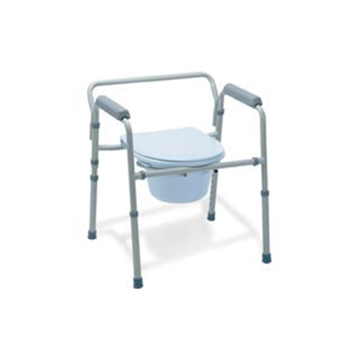 Medline Painted Steel Commode