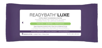 ReadyBath Luxe Premium Cloths, Total Body Cleansing
