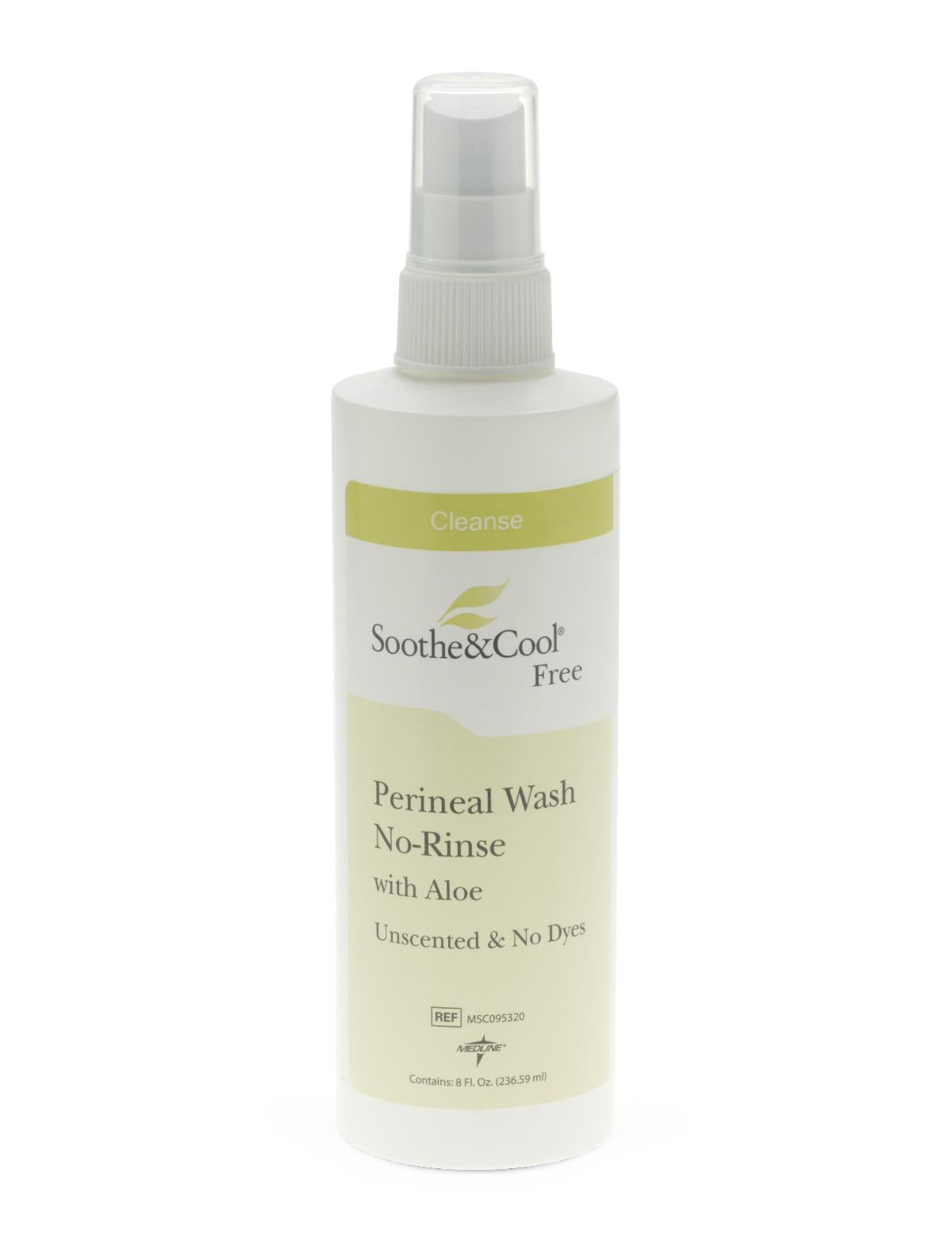 Soothe & Cool No Rinse Perineal Spray Wash - 8 oz.