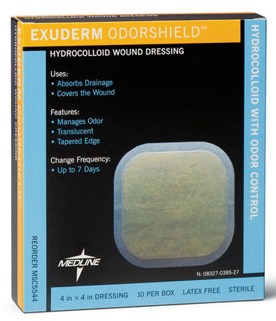 Exuderm Odorshield Wound Dressing