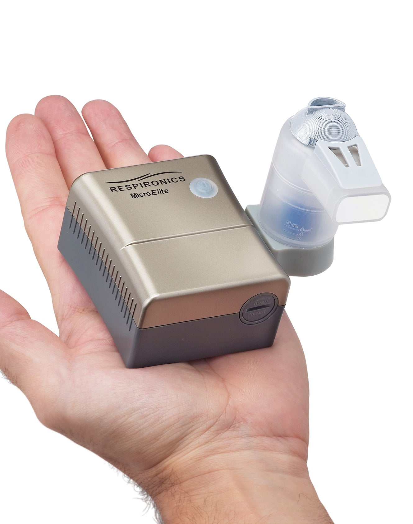 Respironics MicroElite Nebulizer System (with battery)
