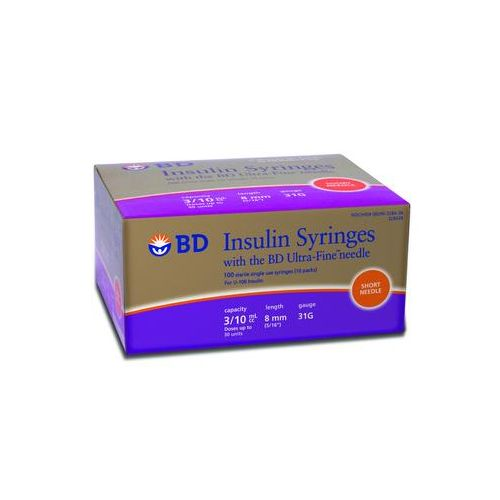 BD™ Ultra-Fine™ Insulin Syringe and Needle - 31 Gauge