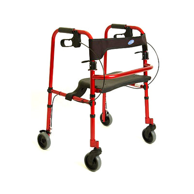 Invacare Red Adult Rollite Rollator