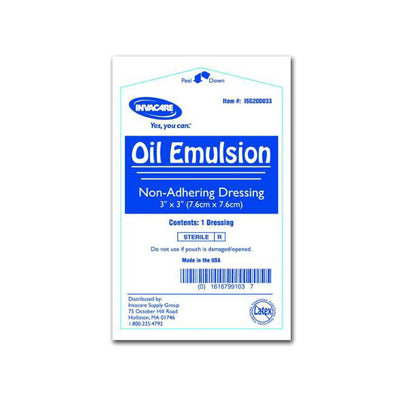 Invacare Oil Emulsion Dressing - replaced with I-68611-GP