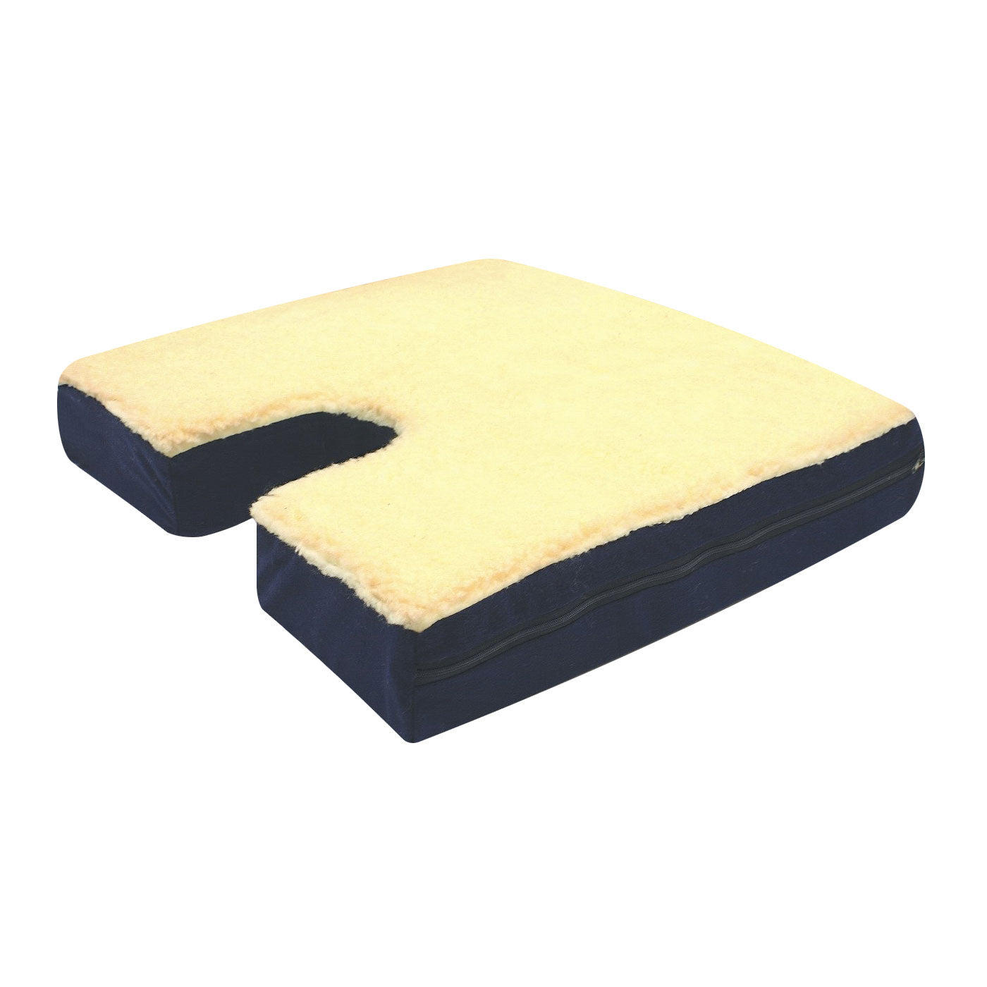 Fleece Coccyx Gel Seat Cushion