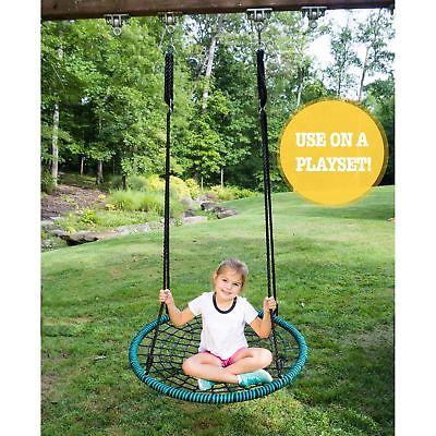 "Play Platoon Spider Web Tree Swing - Choose between 40"", 24"" or with Open Cen..."