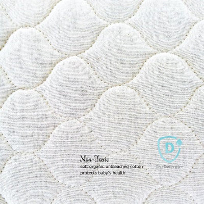 Dry Defender Organic Cotton Waterproof Portable Crib Pad NEW