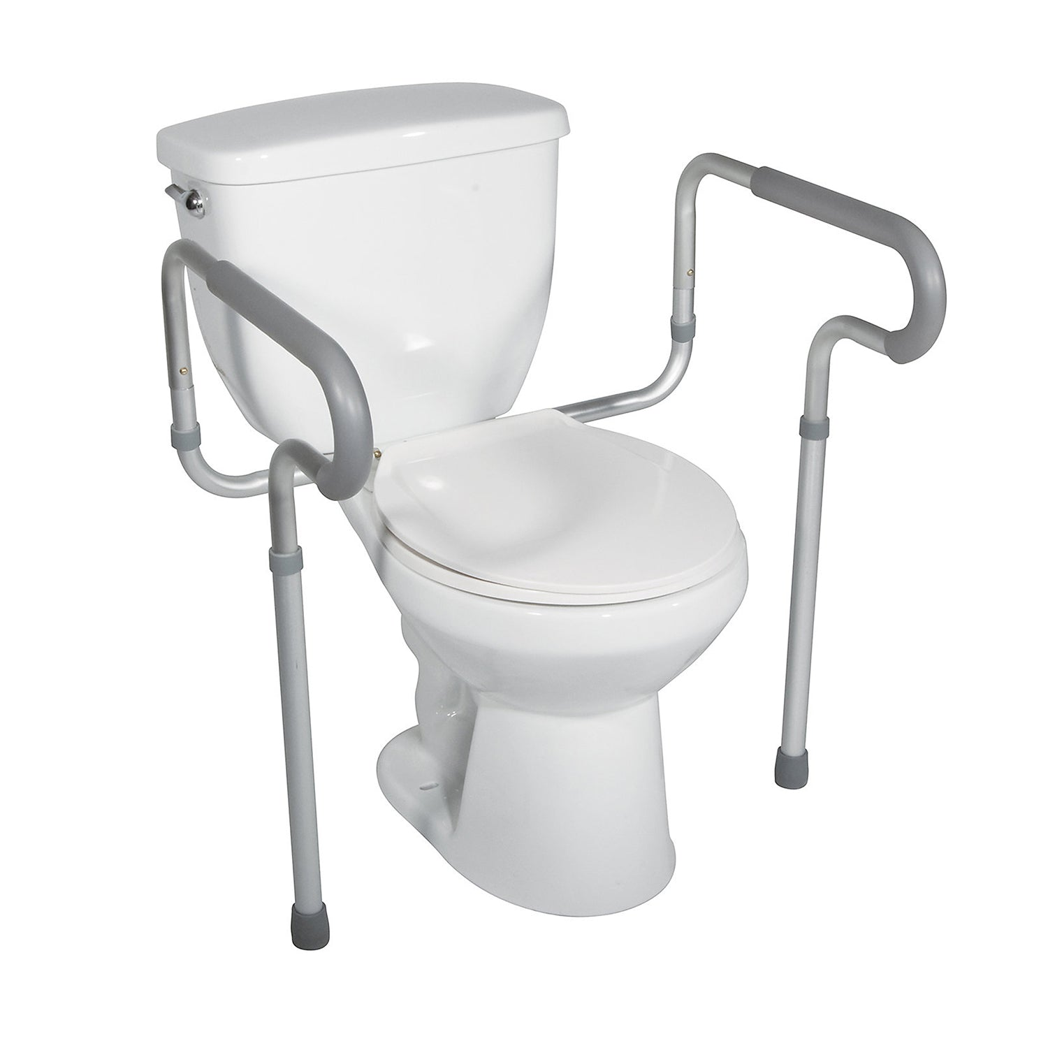 Drive Toilet Safety Frame with Padded Armrest
