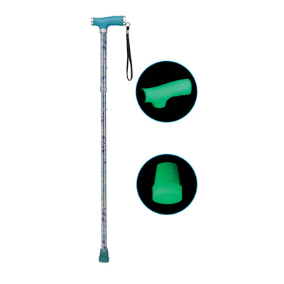 Drive Folding Cane with Glowing Grip