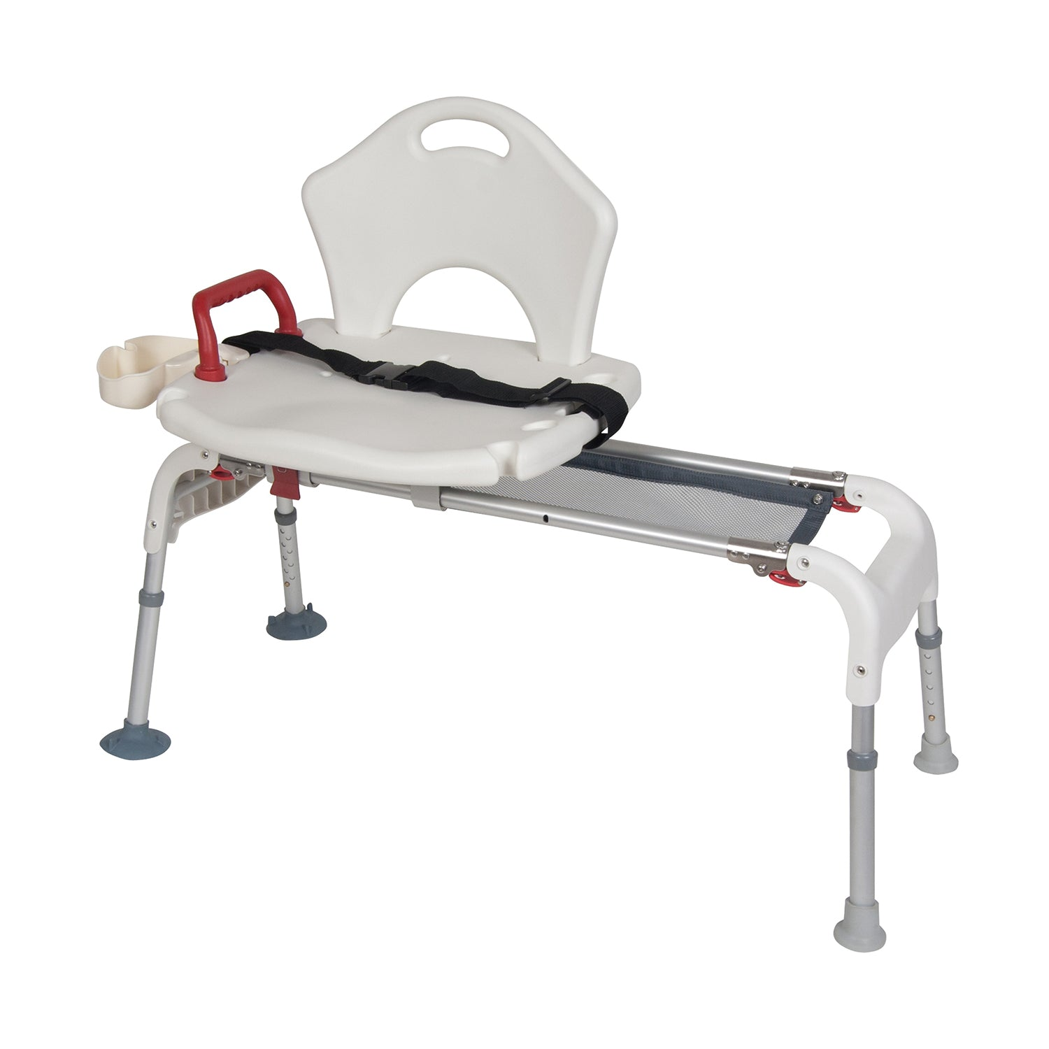 Sliding and Folding Transfer Bench