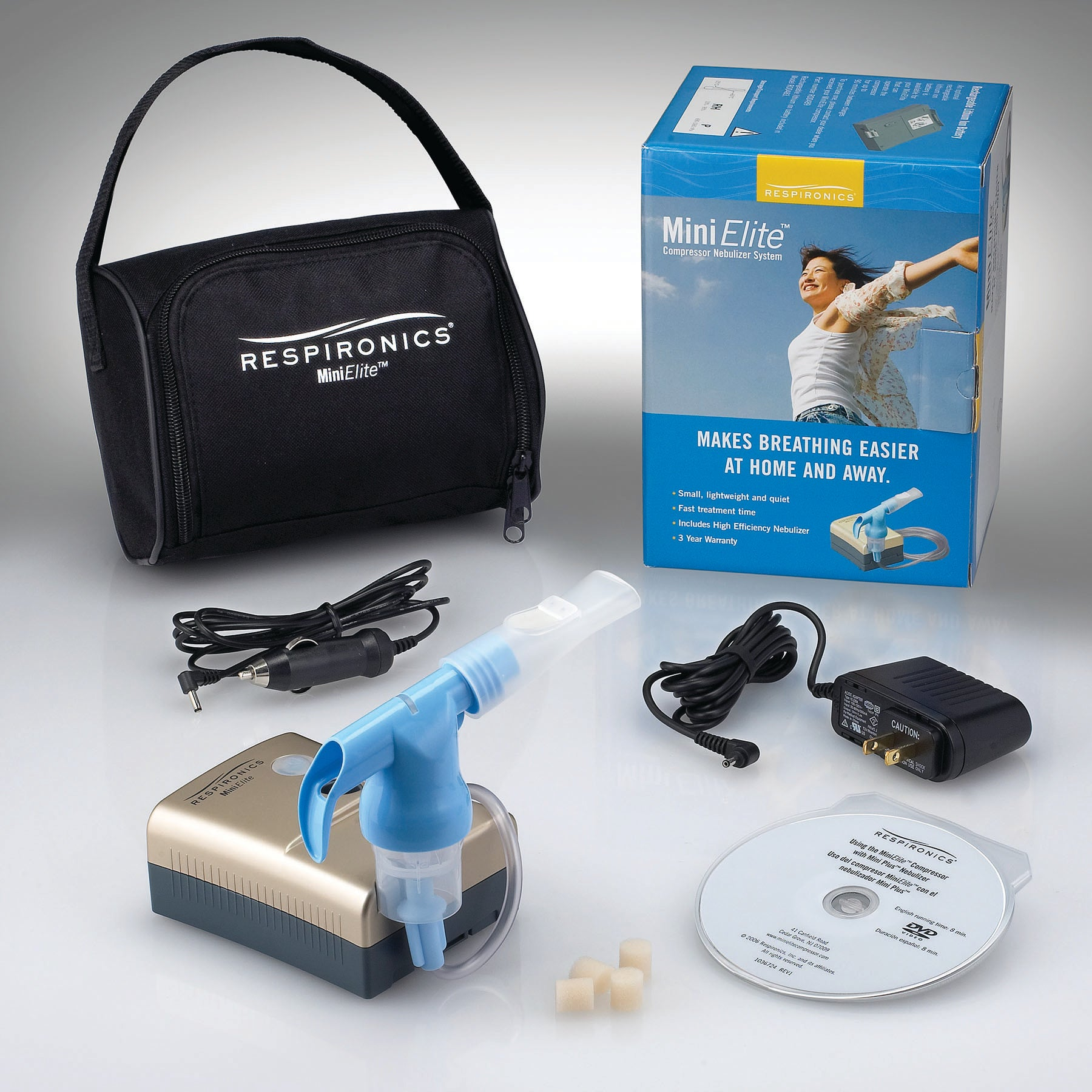 MiniElite Compressor Nebulizer without Battery