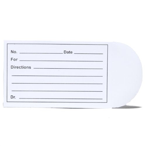Graham Field Printed Pill Envelope, Box of 1000