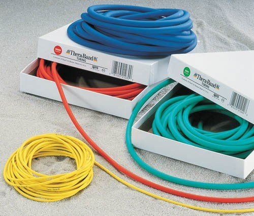 Thera-Band Latex Exercise Tubing, 25 ft