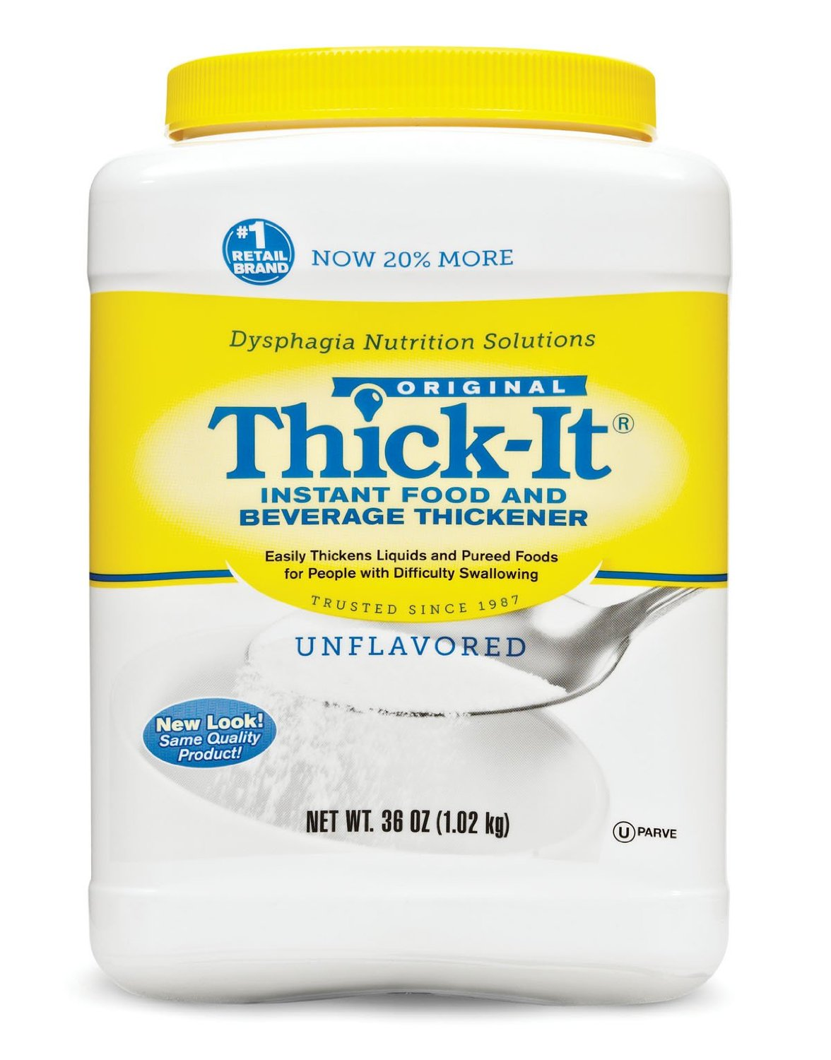 Thick-It Instant Food and Beverage Thickener, 36 oz