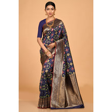 Load image into Gallery viewer, Trendy Navy Patola Saree- DD-P1-S517