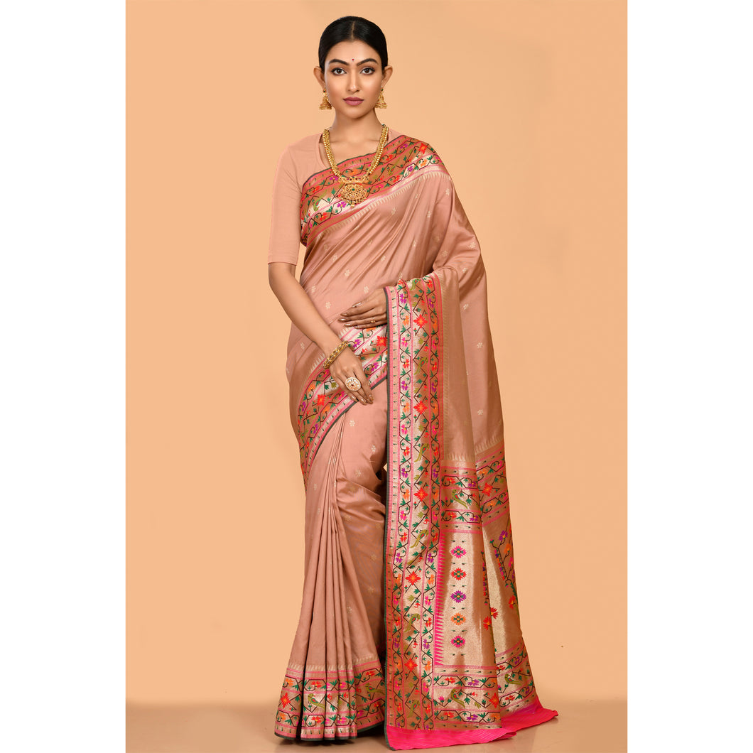 High quality Powerloom Silk Saree- DD-P1-S509