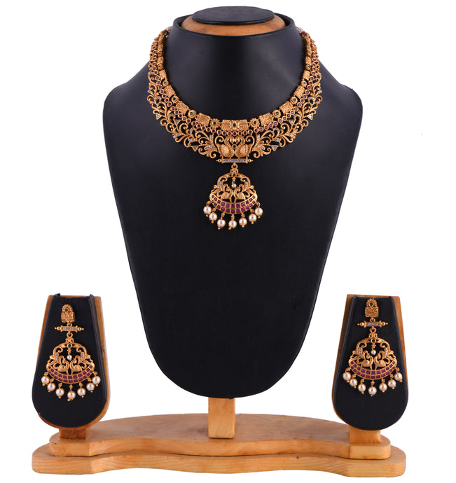 Temple Jewellery- Necklace (DD-S1N503)