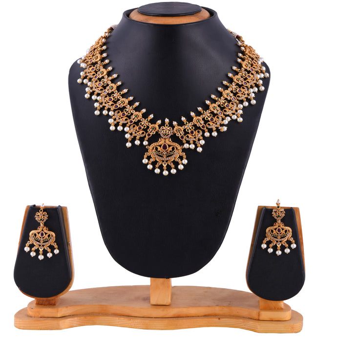 Temple Jewellery- Necklace (DD-S1N504)
