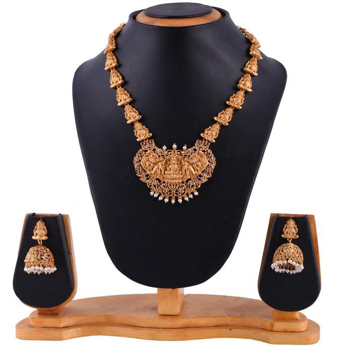 Temple Jewellery- Necklace (DD-S1N505)