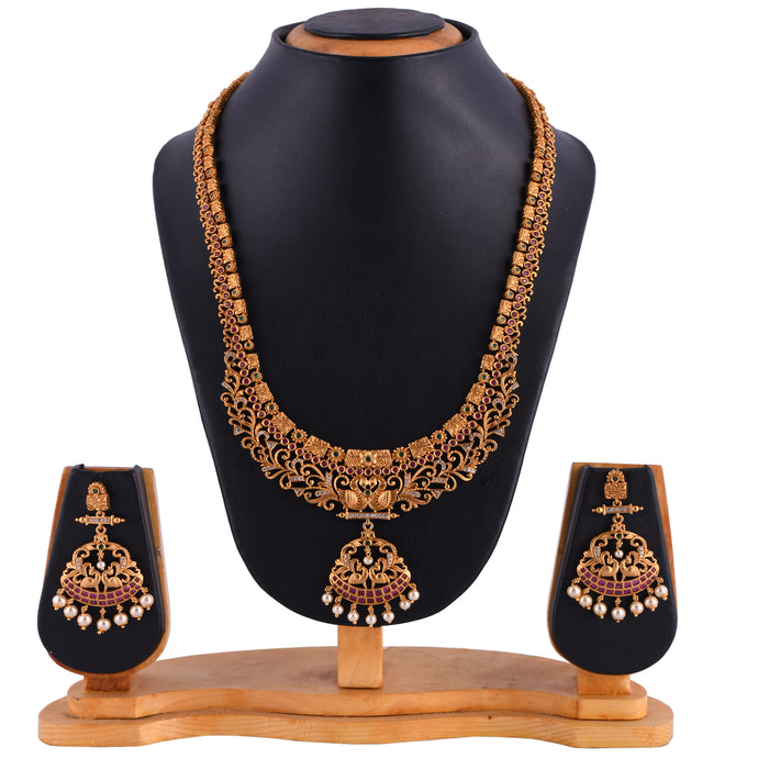 Temple Jewellery- Necklace (DD-S1N508)