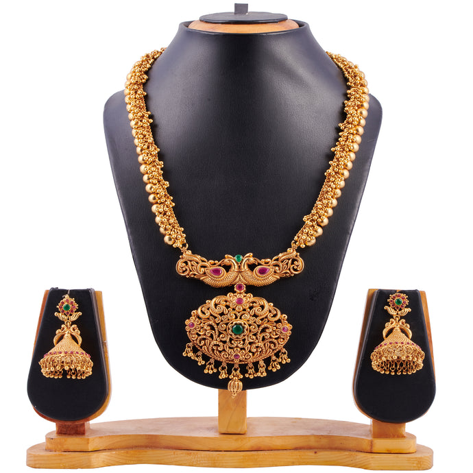 Temple Jewellery- Necklace (DD-S1N509)