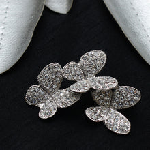 Load image into Gallery viewer, Butterfly Cut Stone Studded Brooch