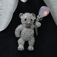 Load image into Gallery viewer, Teddy Stone Studded Brooch