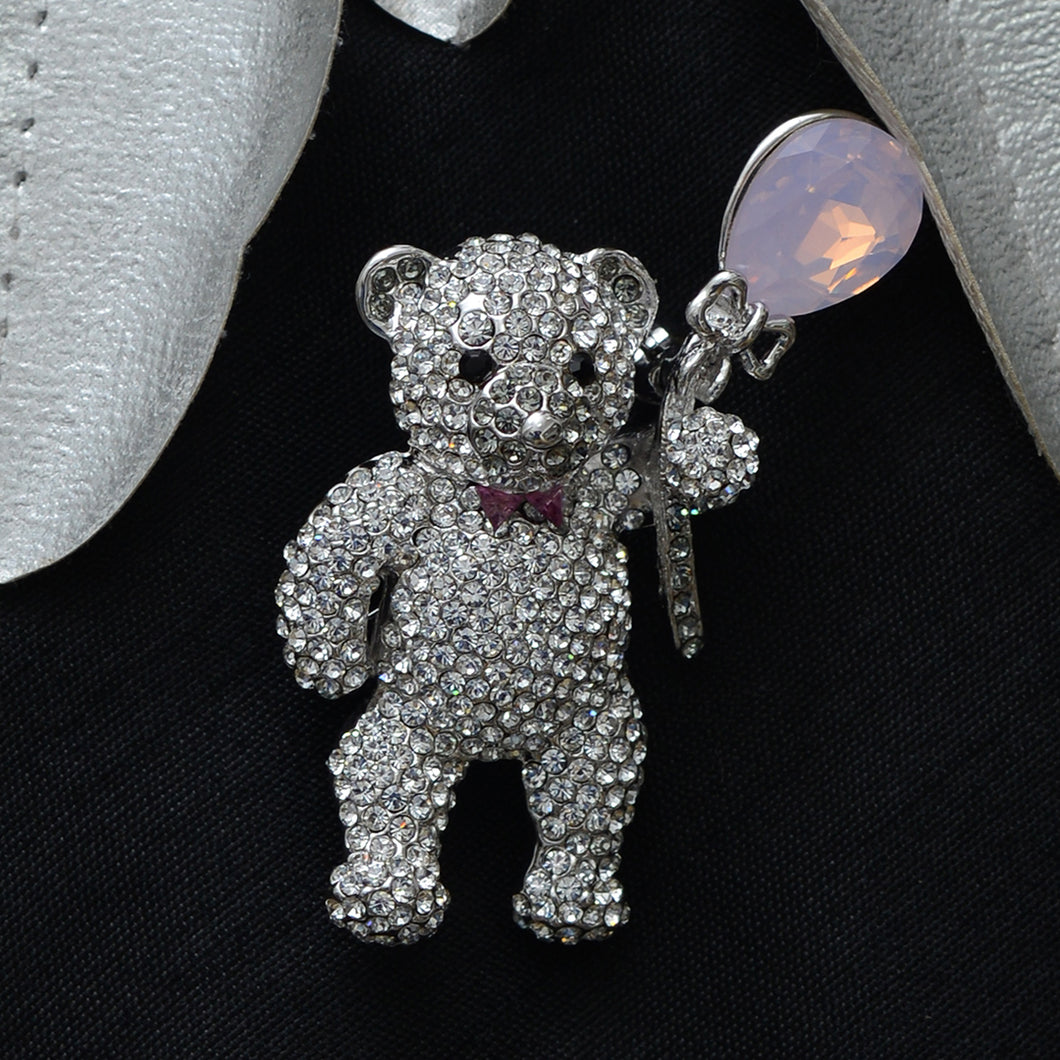 Teddy Stone Studded Brooch