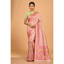 Load image into Gallery viewer, Green and Pink Patola Saree- DD-P1-S522