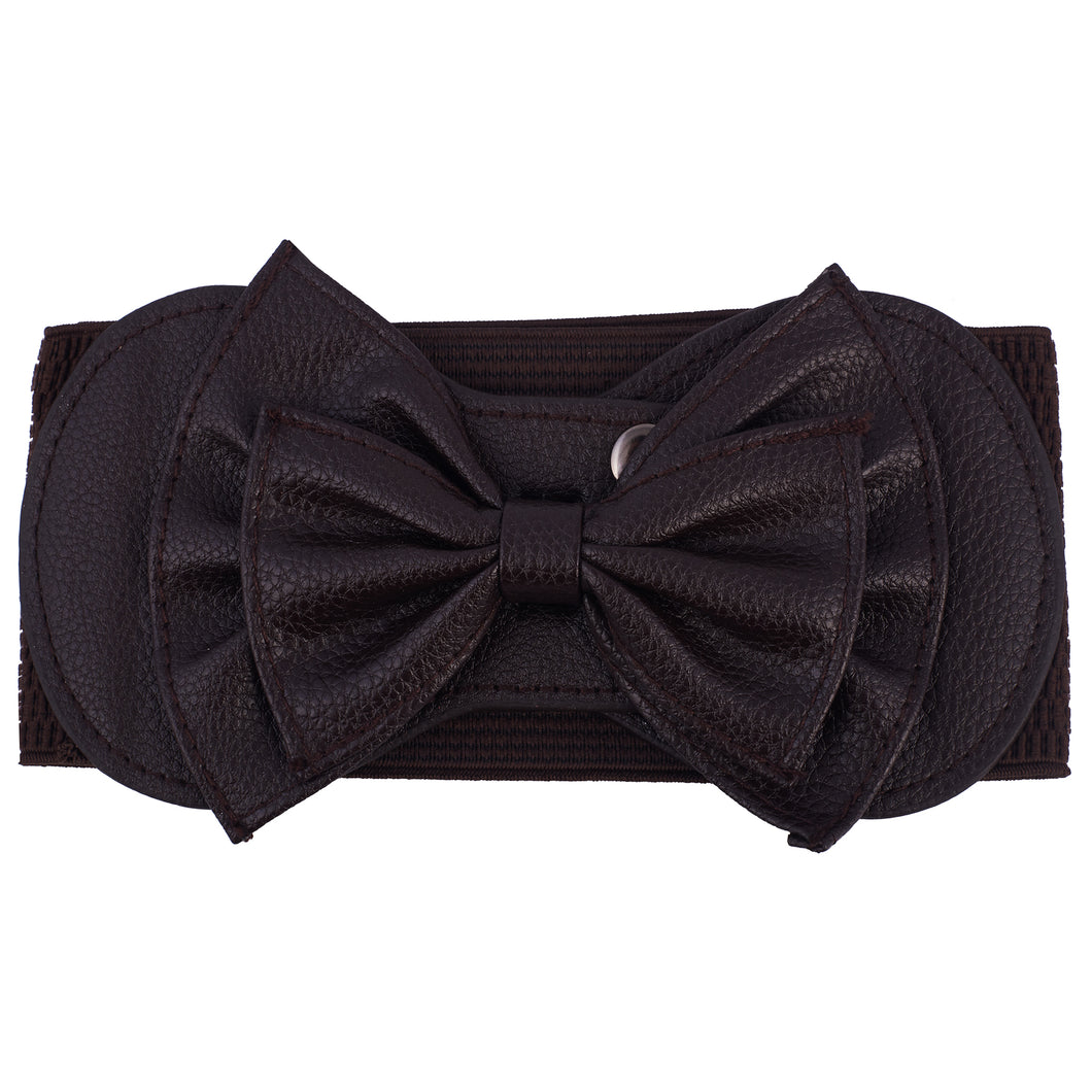 Leather Bow Belts