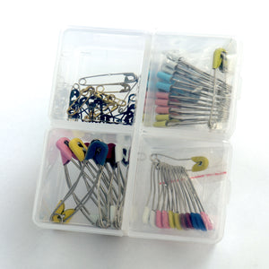 Safety Pins - Assorted (86 Pcs)