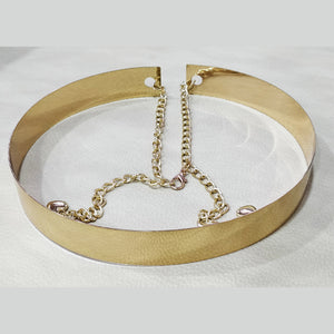 Metallic Chain Belt